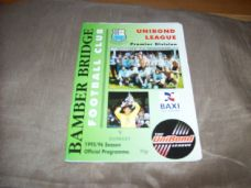 Bamber Bridge v Guiseley, 1995/96
